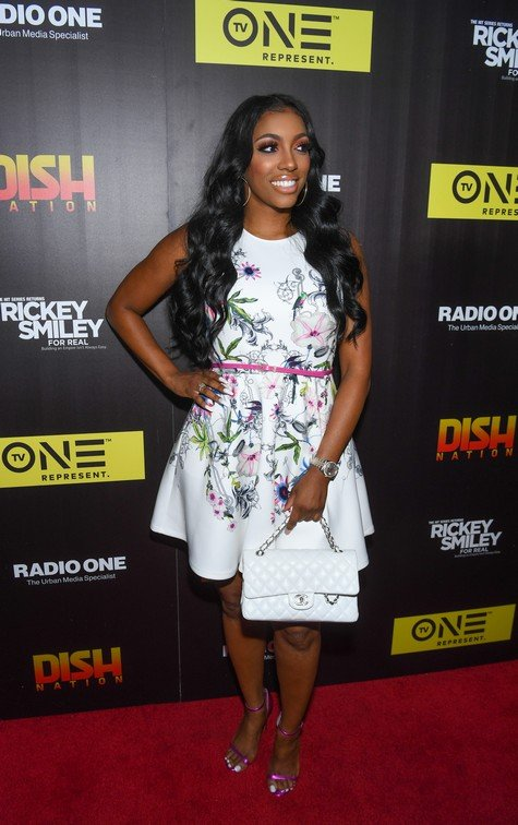 ATLANTA, GA - JUNE 13: Television personality Porsha Williams attends
