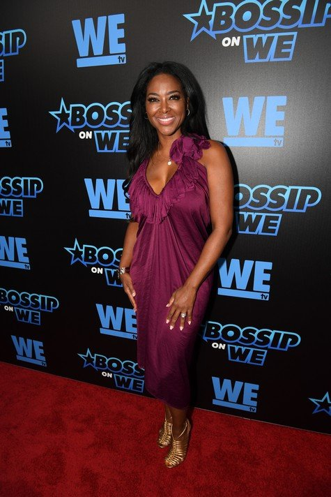 ATLANTA, GA - JUNE 27: TV personality Kenya Moore at