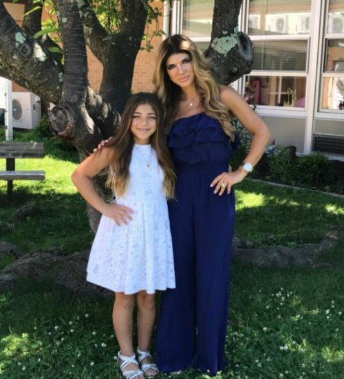 Teresa Giudice & Melissa Gorga Celebrate Milania Giudice's Graduation And Their Kids' Last Day Of School