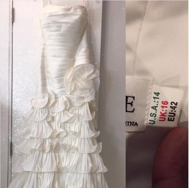 Kenya Moore Wedding Gown Giveaway