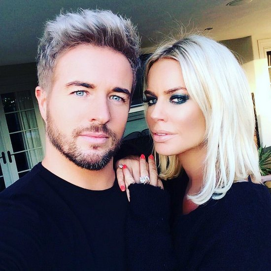 Ladies of London stars Caroline Stanbury and Luke Henderson