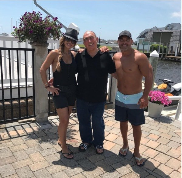 Teresa Giudice & Joe Gorga With Their Dad
