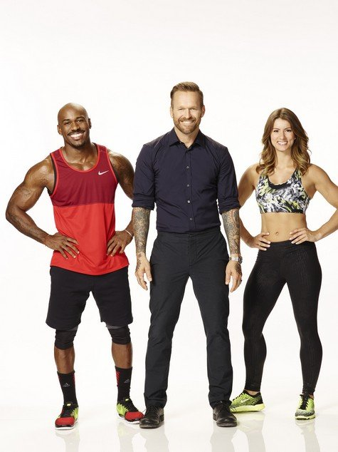 THE BIGGEST LOSER -- Season: 17 -- Pictured: (l-r) Dolvett Quince, Bob Harper, Jennifer Widerstrom -- (Photo by: Chris Haston/NBC/NBCU Photo Bank via Getty Images)