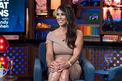 WATCH WHAT HAPPENS LIVE WITH ANDY COHEN -- Episode 14124 -- Pictured: Kelly Dodd -- (Photo by: Charles Sykes/Bravo)