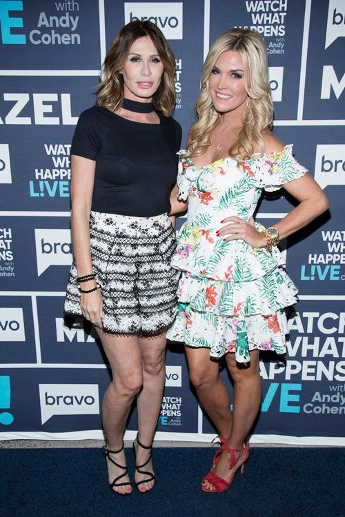 Carole Radziwill & Tinsley Mortimer Refute Sonja Morgan's Claim That She Was 10 Months Sober