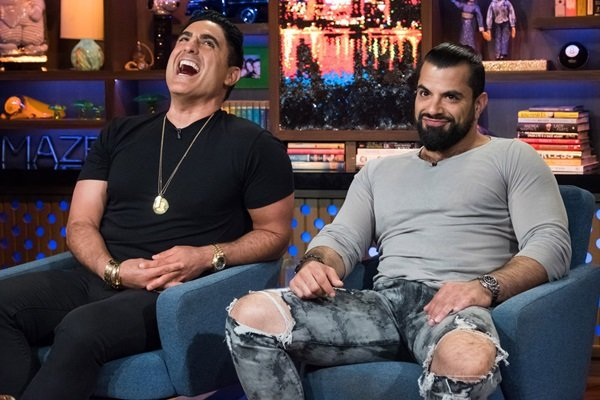 Reza and Shervin on WWHL
