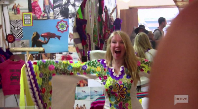 Ramona-Singer-Crazy-Colorful-Dress-Mexico-Store-RHONY