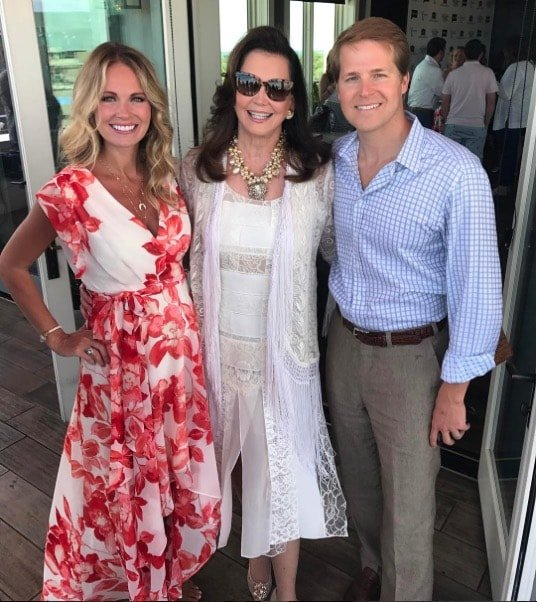 Cameran Eubanks, Husband Jason, and Pat Altschul