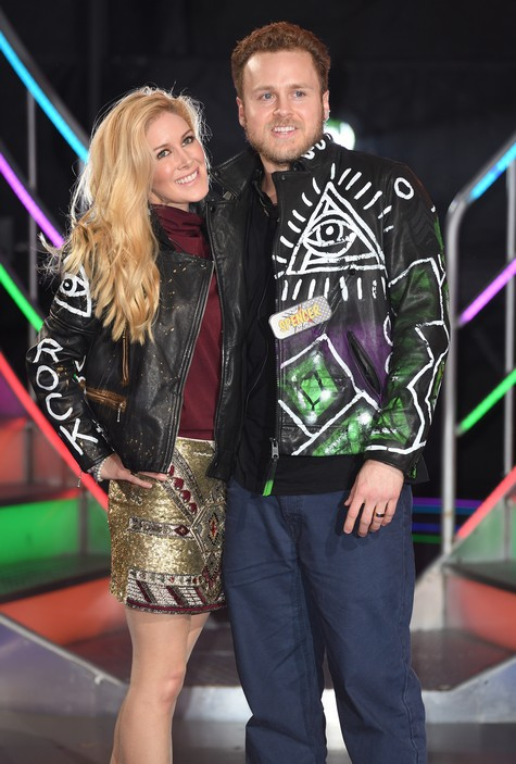 BOREHAMWOOD, ENGLAND - JANUARY 27: Heidi Montag and Spencer Pratt are the 8th housemates evicted from the Celebrity Big Brother house at Elstree Studios on January 27, 2017 in Borehamwood, England. (Photo by Karwai Tang/WireImage)