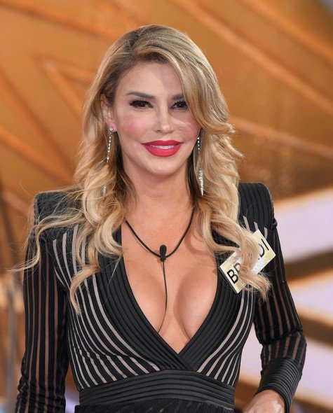 BOREHAMWOOD, ENGLAND - AUGUST 01: Brandi Glanville enters the Big Brother House for the Celebrity Big Brother launch at Elstree Studios on August 1, 2017 in Borehamwood, England. (Photo by Karwai Tang/WireImage)