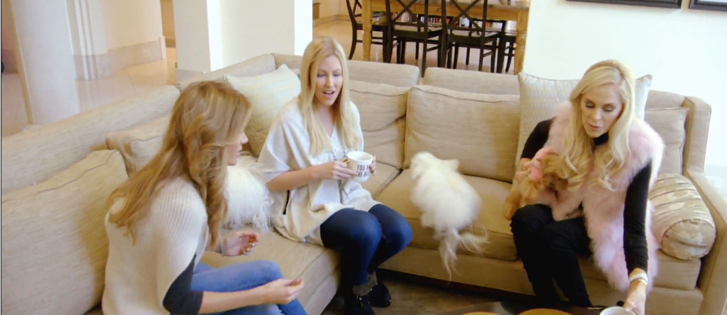 8273003b301 Real Housewives of Dallas Season 2 Premiere Recap - New Friends, Old  Friends and Sand Paper