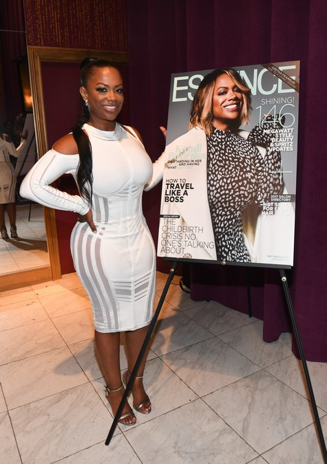 ATLANTA, GA - SEPTEMBER 22: Kandi Burruss at Essence Magazine Celebrates October Cover Star Kandi Burruss at Revel on September 22, 2017 in Atlanta, Georgia. (Photo by Paras Griffin/Getty Images)