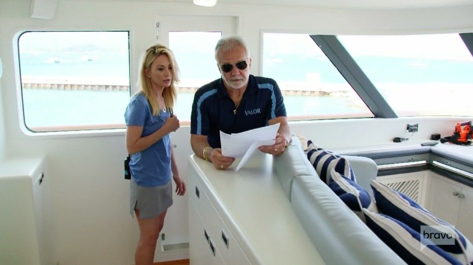 Below Deck Season 5 - Captain Lee & Kate