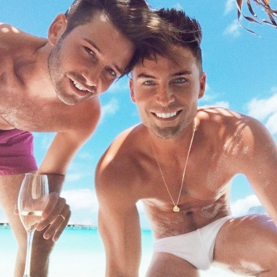 Josh Flagg and Bobby Boyd honeymoon
