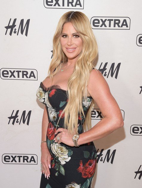 NEW YORK, NY - OCTOBER 03: Television personality Kim Zolciak visits
