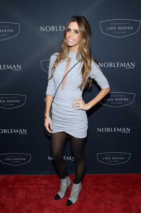 NEWPORT BEACH, CA - OCTOBER 12: Lydia McLaughlin attends the Nobleman Magazine event with Eurocar at Lido Marina Village on October 12, 2017 in Newport Beach, California. (Photo by Phillip Faraone/Getty Images for Eurocar)