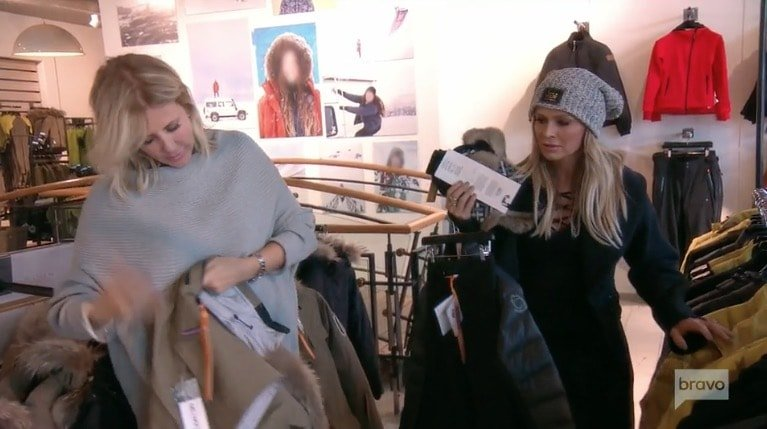 Vicki & Tamra shopping in Iceland
