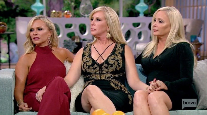 Tamra Vicki and Shannon make amends