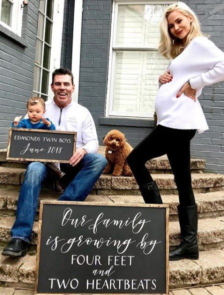 Meghan Edmonds Is Pregnant With Twin Boys!