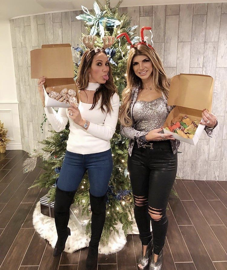 Reality TV Star Christmas Photos - Melissa Gorga, Brittany ...
