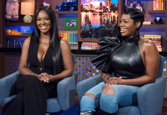 Kenya Moore and Fantasia Barrino