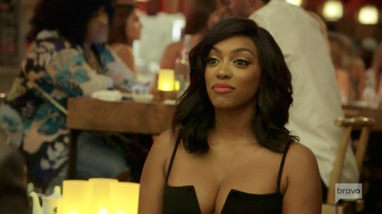 Porsha on her date