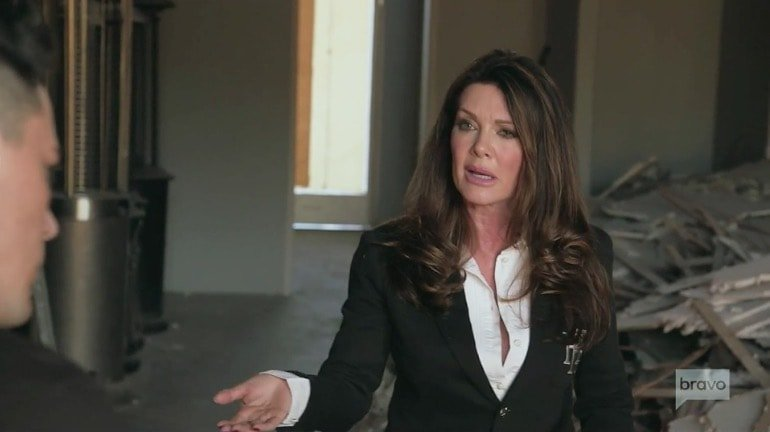 Lisa Vanderpump confronts Tom