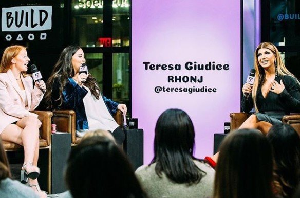 Teresa Giudice Discusses Ashlee Holmes' Twitter Rant, Milania Giudice's Issues With Kim DePaola, & Danielle Staub's Bathroom Sex At Her Family's Restaurant