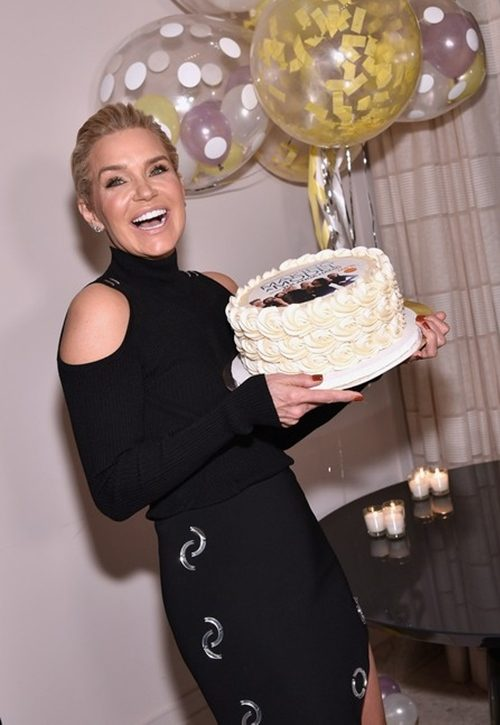 Photos: Yolanda Hadid Celebrates Her Birthday And Show Premiere With Gigi and Bella