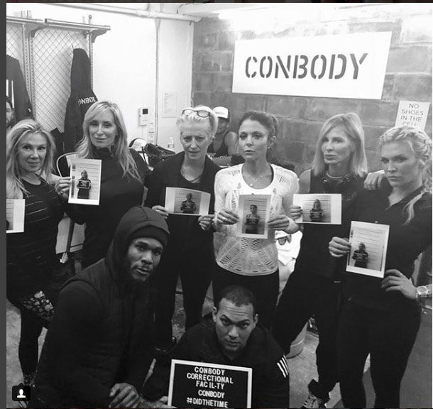 RHONY workout at ConBody