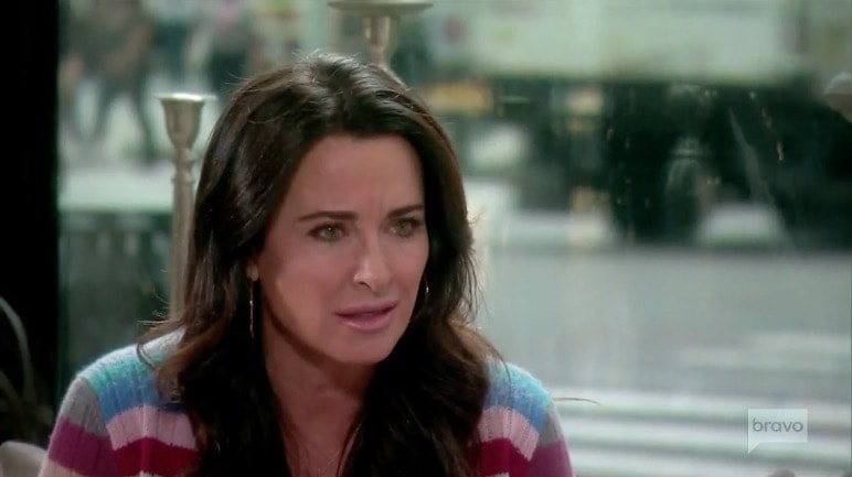Kyle Richards shocked