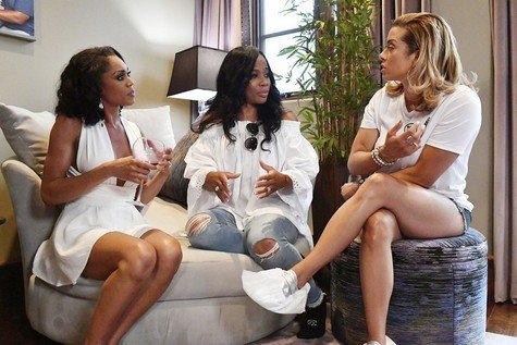 Real Housewives Of Potomac Tonight: Monique Samuels & Robyn Dixon Push The Cast To Take Sides