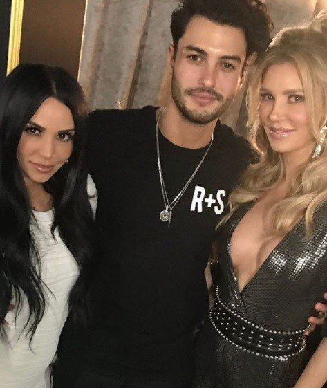 """Brandi Glanville Temporarily Quit Her Podcast After Scheana Marie Got A Podcast With The Same Company & Lisa Vanderpump Wouldn't Let Scheana Appear On Brandi's Show; Says Scheana Was """"Scared"""" To Post Photos With Her"""