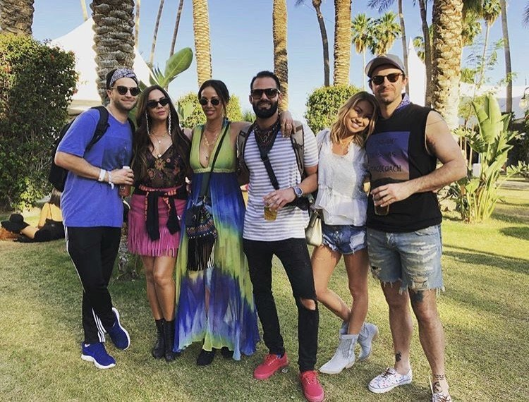 Vanderpump Rules Stars At Coachella Weekend 2