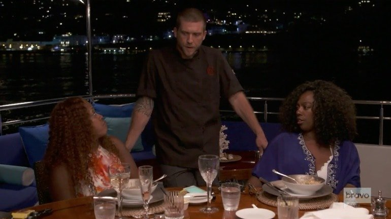 Charter guests complain about Adam's cooking