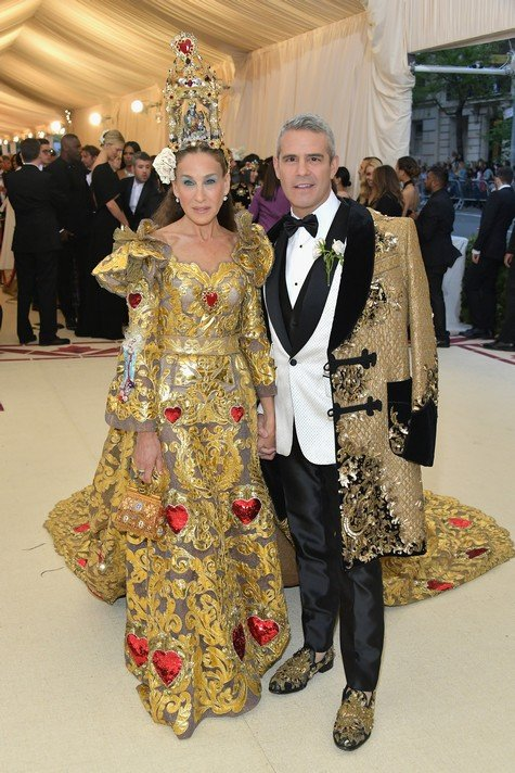 Kim Kardashian, Andy Cohen, Kylie Jenner And More Attend 2018 MET Gala – Photos