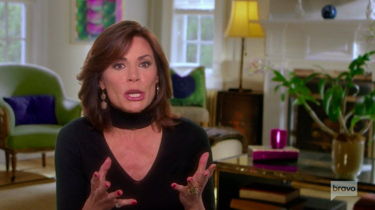 "Luann de Lesseps Says It ""Wasn't A Good Idea"" To Go Back To Palm Beach After Her Divorce"