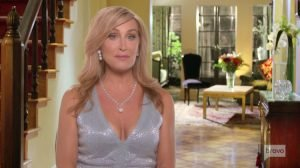 "RHONY's Sonja Morgan Was ""Not Happy"" When She Saw Pictures of Ramona Singer and Harry Dubin Kissing"