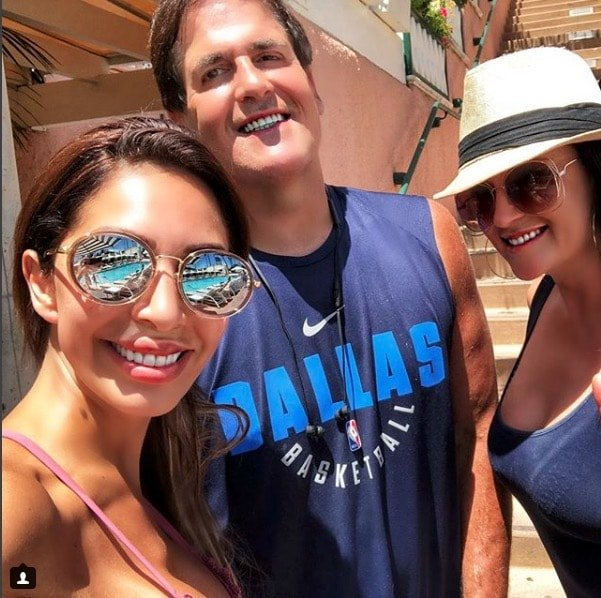 Farrah Abraham With Mark Cuban