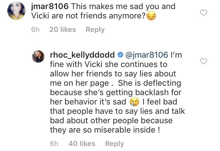 Kelly Dodd Says Vicki Gunvalson Had A Friend Purposely Spread Lies About Her & Tamra Judge