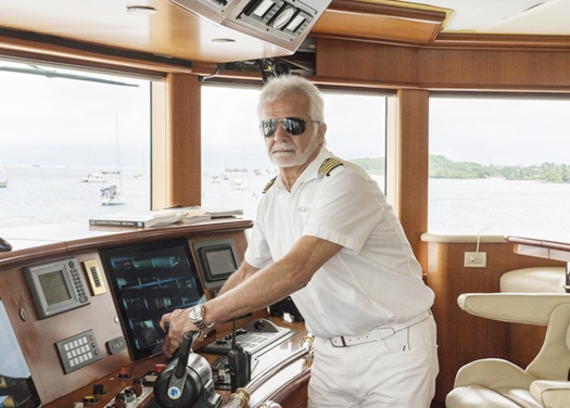 Reality TV Listings - Below Deck Captain Lee