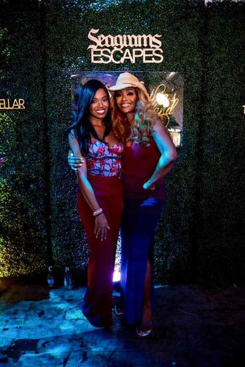 Cynthia Bailey Releases Her New Drink With a Cool Island Space – With Kenya Moore and NeNe Leakes
