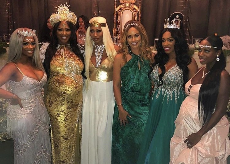 Kenya Moore's Baby Shower- Photos