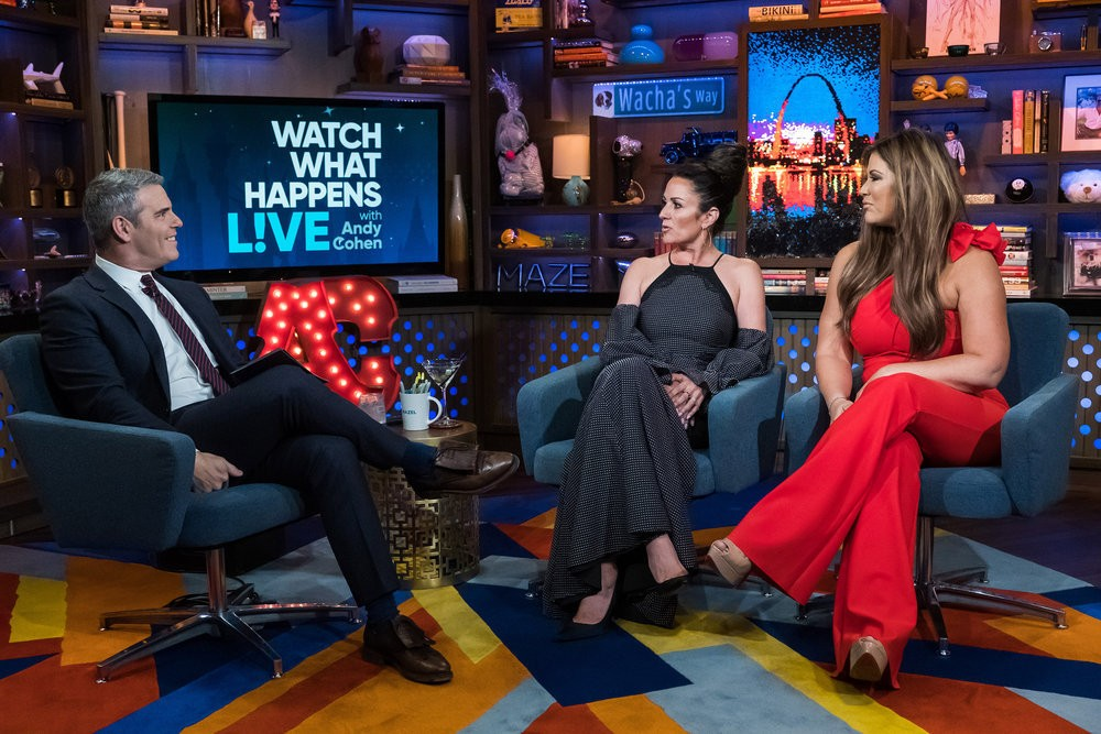 Andy Cohen Is Uncomfortable With Jeff Lewis Vs. Jenni Pulos Feud; Emily Simpson Explains Comparing Shannon Beador To Her Mother