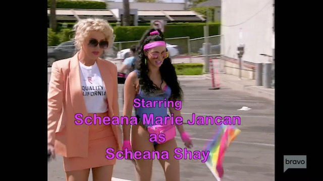 Scheana Shay in OverSURved