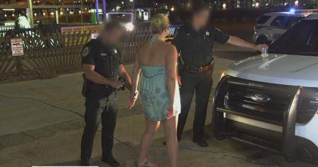 Aimee-gets-arrested
