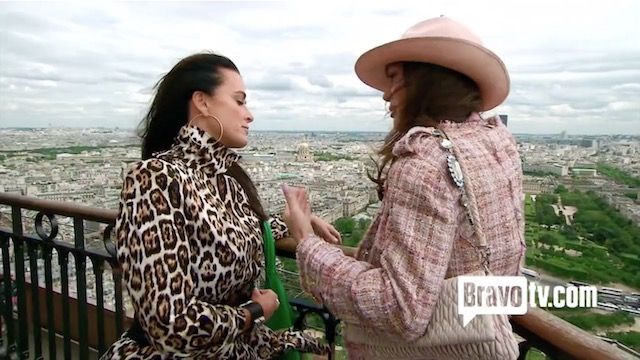 Kyle Richards & Lisa Vanderpump In Paris