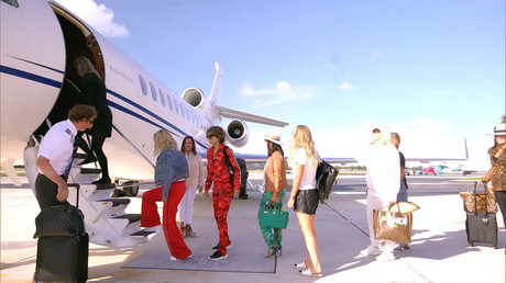 Real Housewives Of Beverly Hills - Private Jet Bahamas