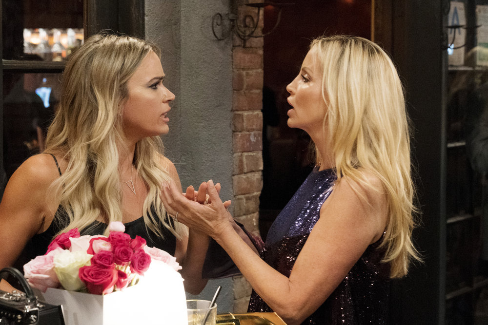 Teddi Mellencamp Arroyave Discusses Feud With Camille Grammer