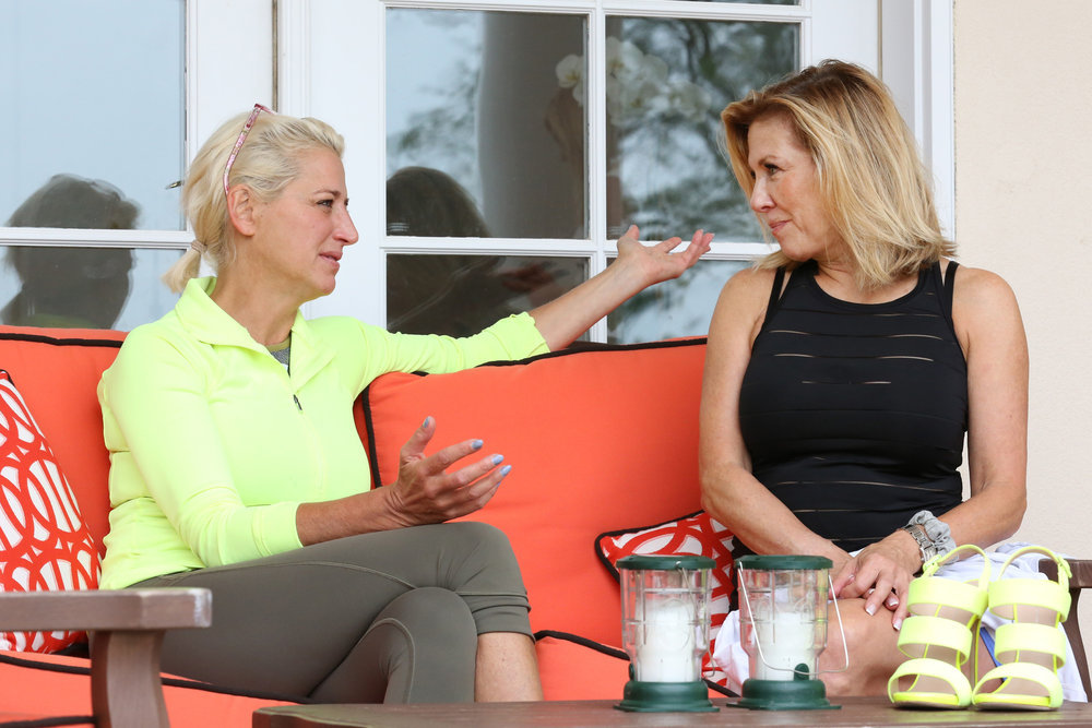 "Dorinda Medley Confronts Ramona Singer About Her ""Lack Of Memory"" At Real Housewives Of New York Reunion"